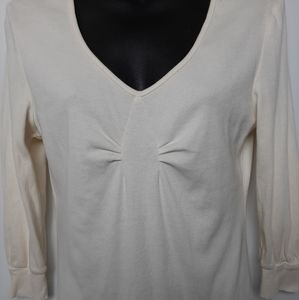 Tommy Hilfiger  cotton 3/4 sleeve top